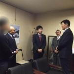 ロブサン・センゲ首相と会見2016109-3
